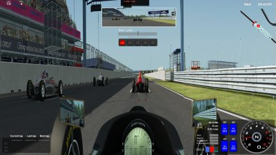 SimHub (beta) For an easy to use replacement HUD (downloads